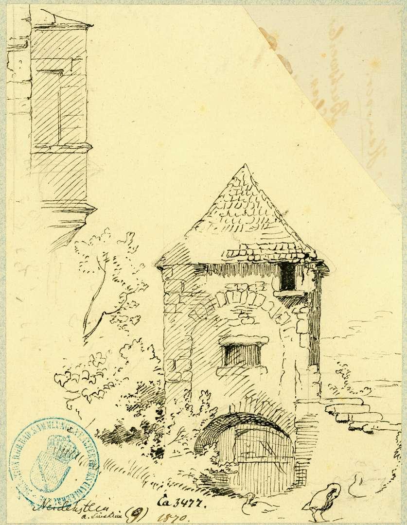 Neidenstein Innerer Torturm, Bild 1