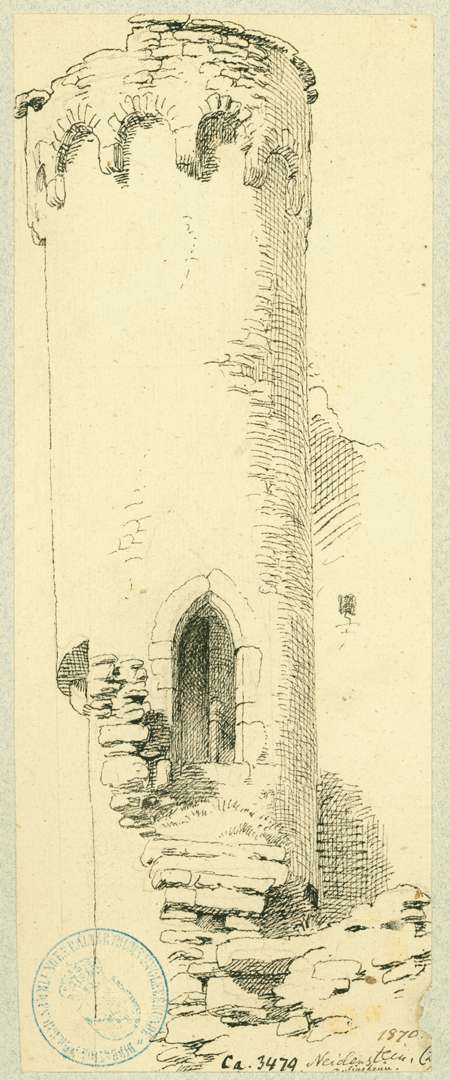 Neidenstein Rundturm mit Bogenfries, Bild 1