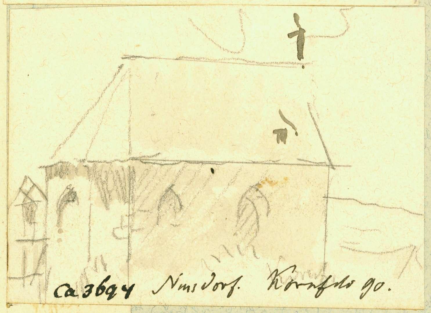 Nußdorf Kapelle in seitlicher Ansicht, Bild 1