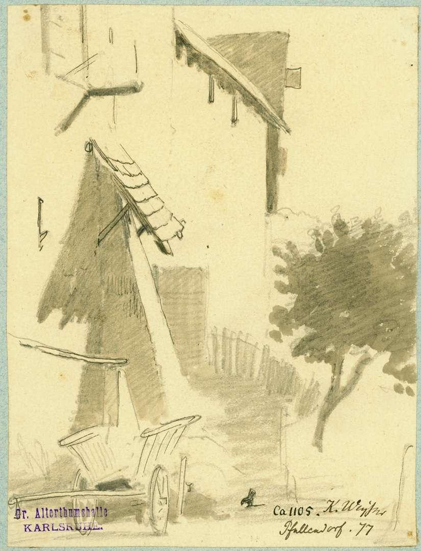 Pfullendorf Partie an der Stadtmauer, Bild 1