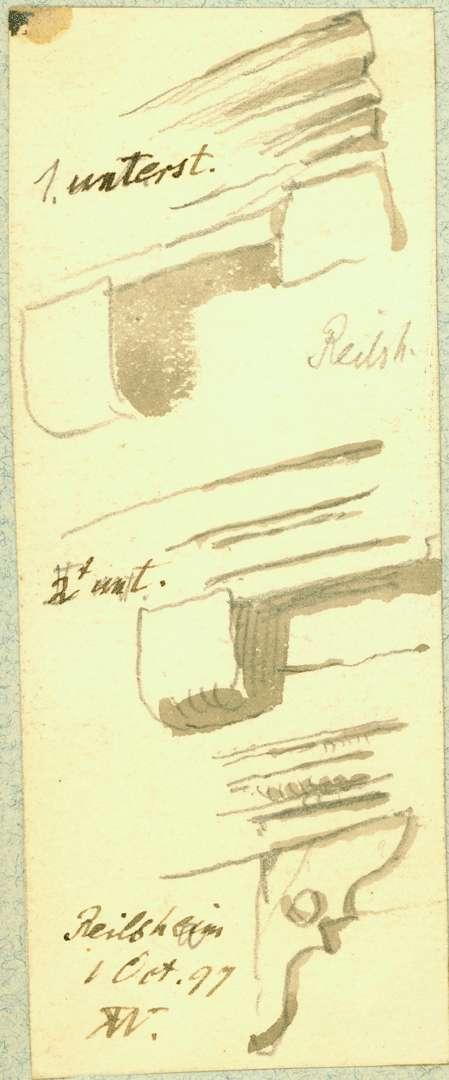 Reilsheim Fachwerkdetails, Bild 1