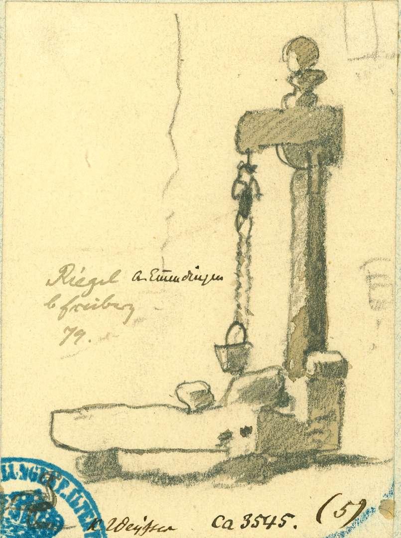 Riegel Radbrunnen mit Steintrog, Bild 1