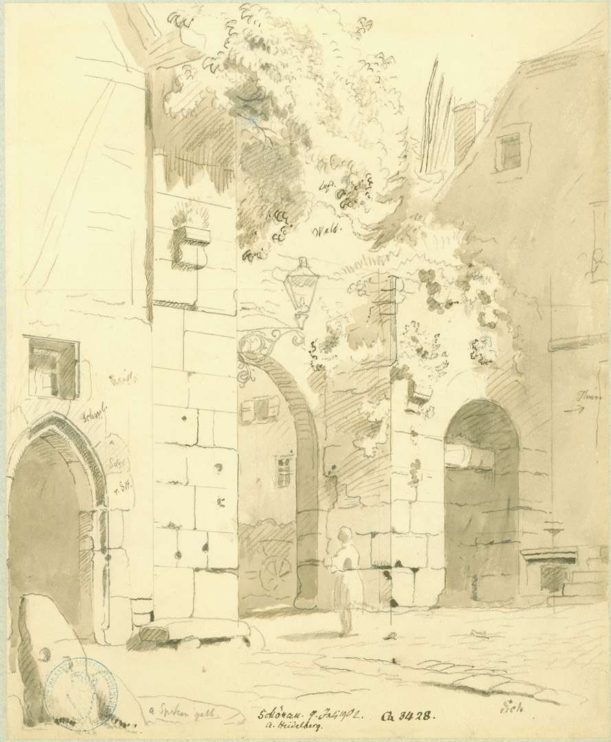 Schönau Stadtseitige Ansicht Tor Zisterzienserkloster, Bild 1