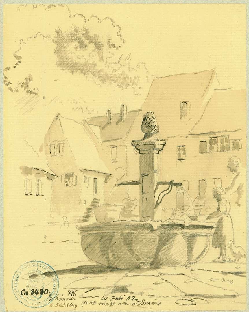 Schönau Marktplatzbrunnen, Bild 1