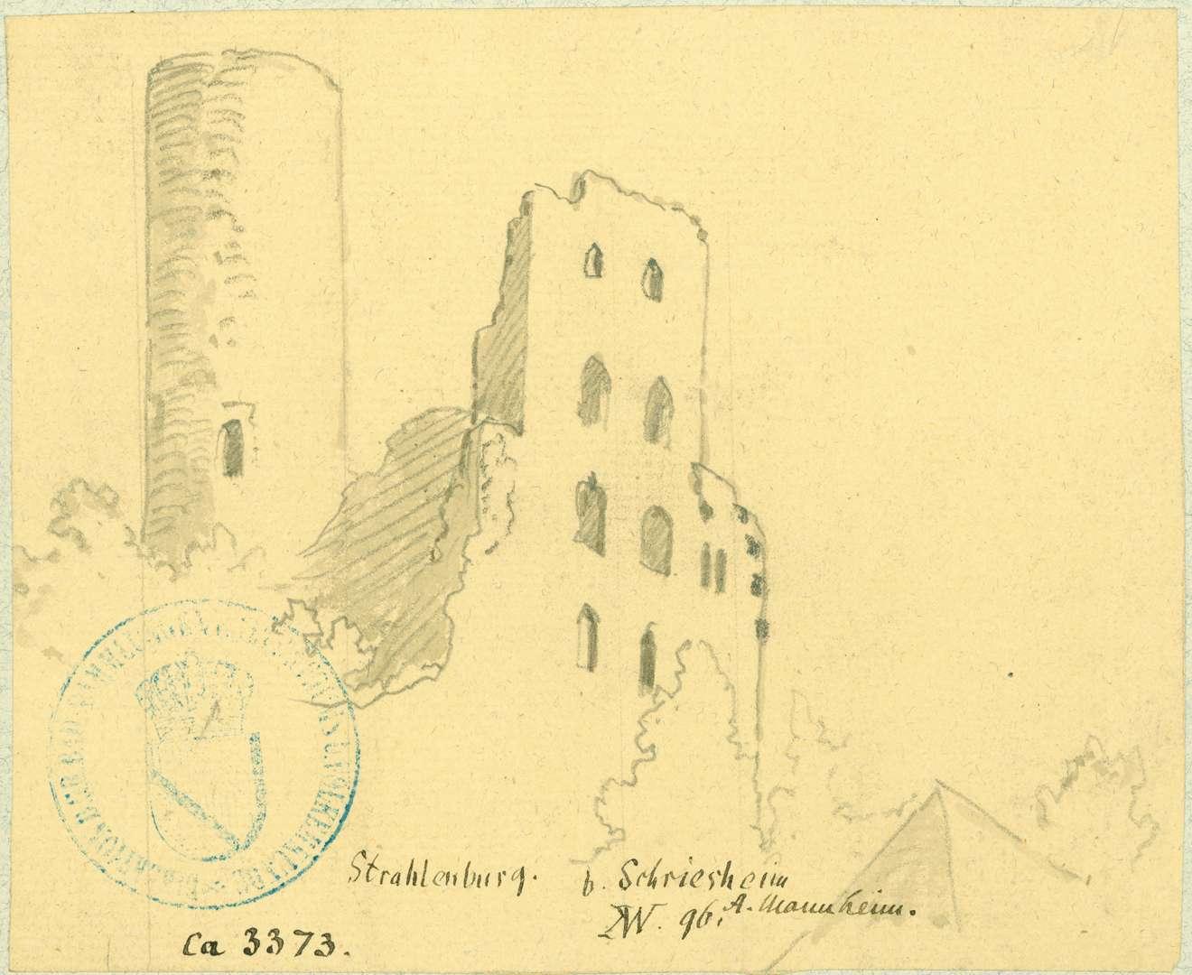 Schriesheim Strahlenburg, Bild 1