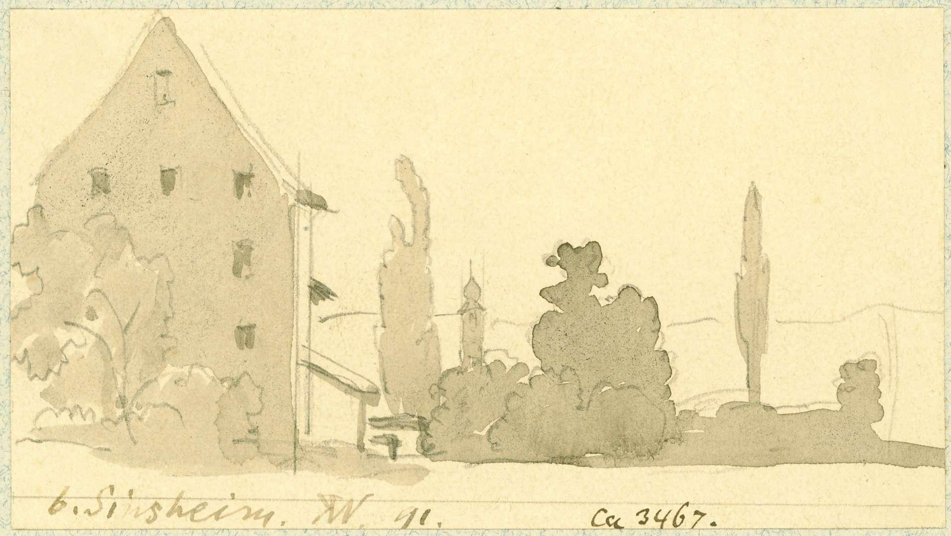 Sinsheim Mühlengebäude, Bild 1