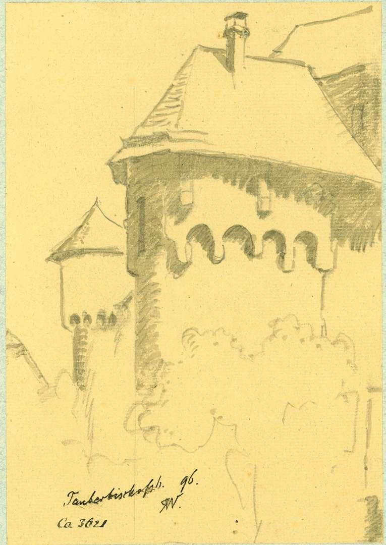 Tauberbischofsheim Befestigungstürme Stadtmauer, Bild 1