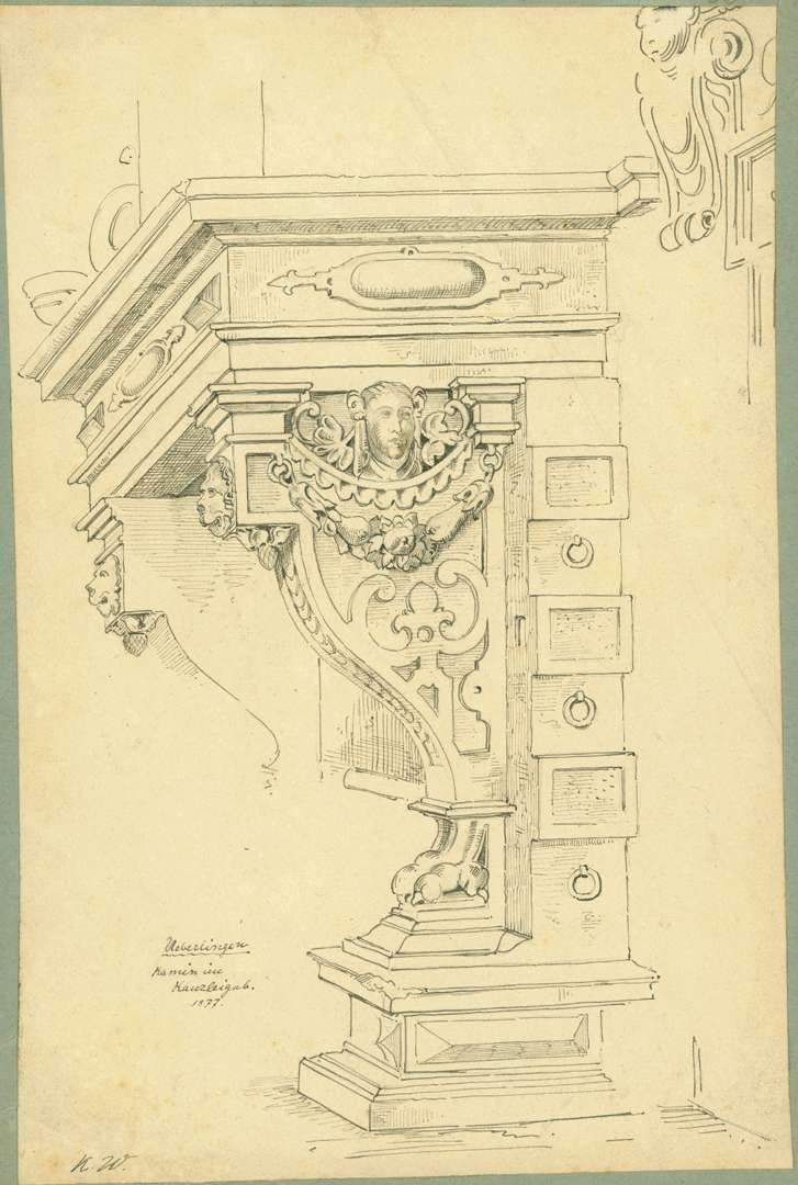 Überlingen Kamin im Rathaus, Bild 1