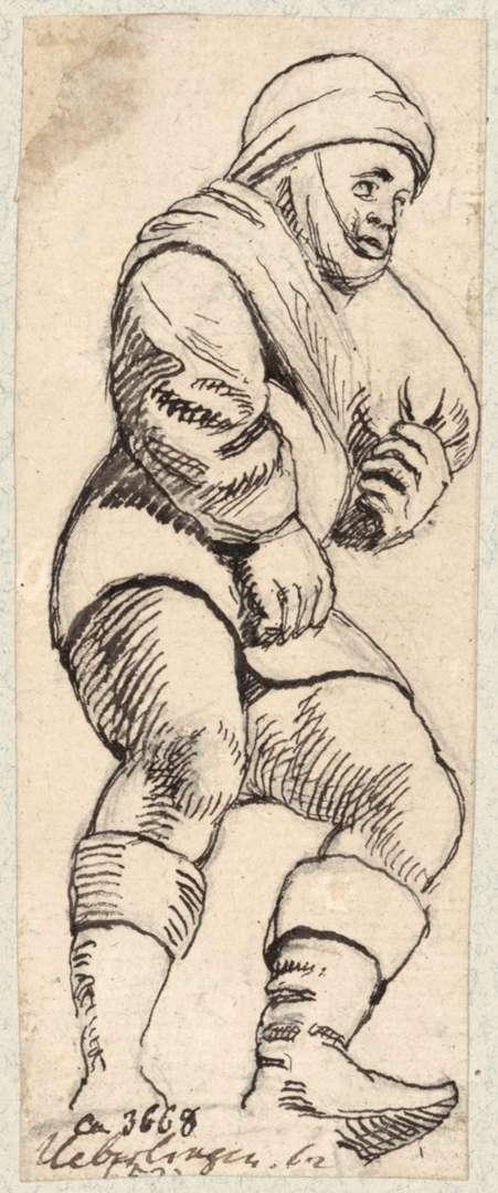 Überlingen Bauernfigur im Rathaussaal, Bild 1