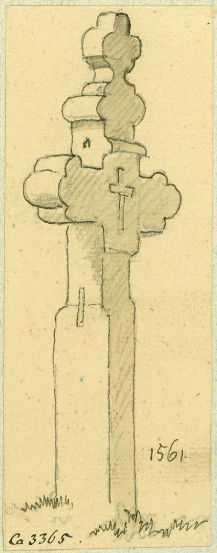 Waghäusel Wegekreuz aus dem Jahre 1561, Bild 1