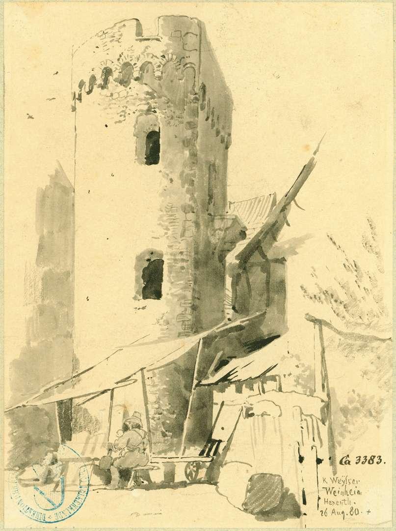 Weinheim Hexenturm (Pulverturm), Bild 1