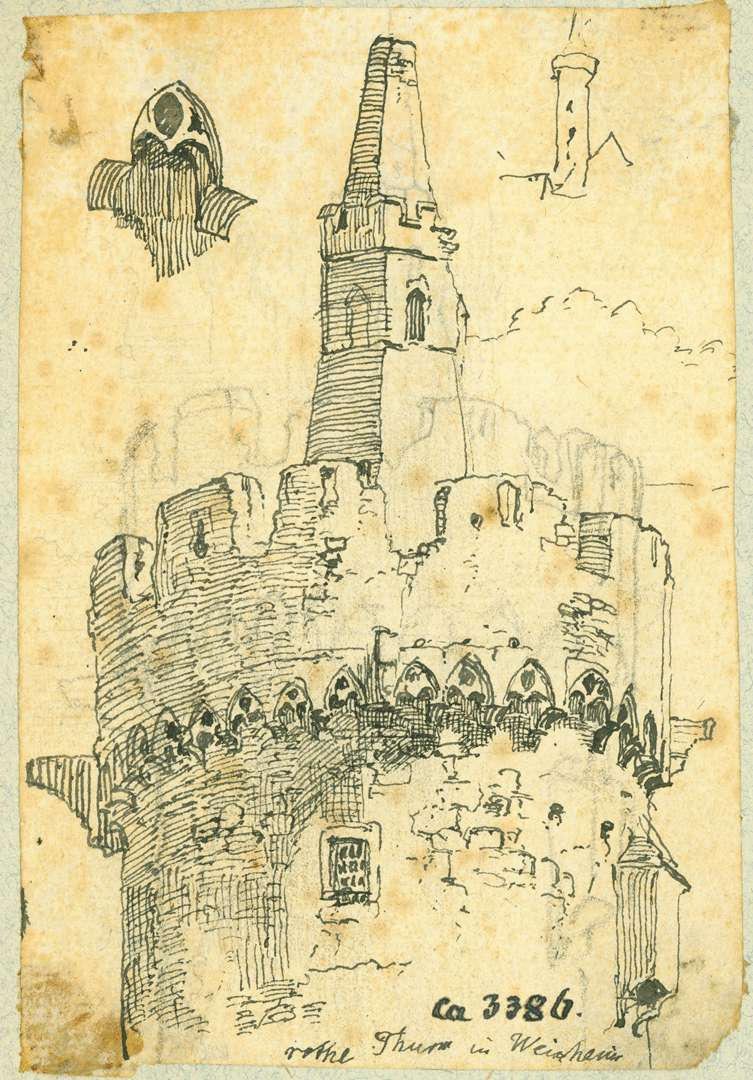 Weinheim Oberes Turmstück Roter Turm, Bild 1