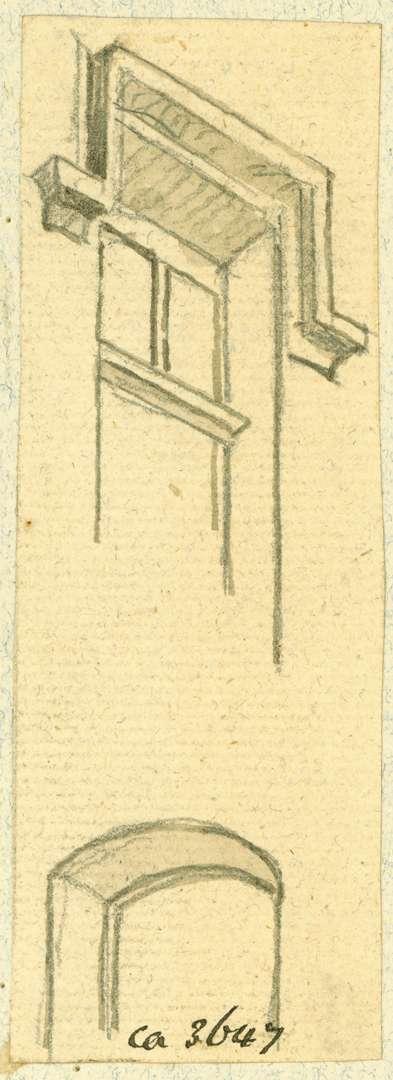 Zwingenberg Fenster mit Rahmen, Bild 1