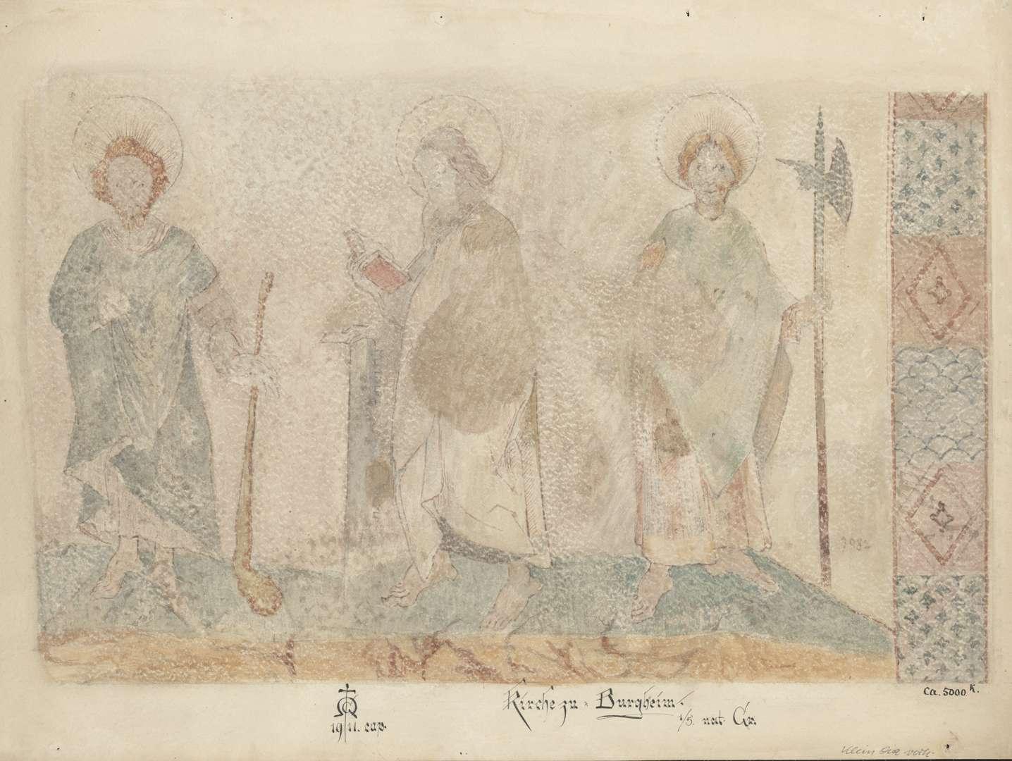 Burgheim Burgheimer Kirche Apostel Judas Thaddäus, Simon Zelotes und Matthäus, Bild 1