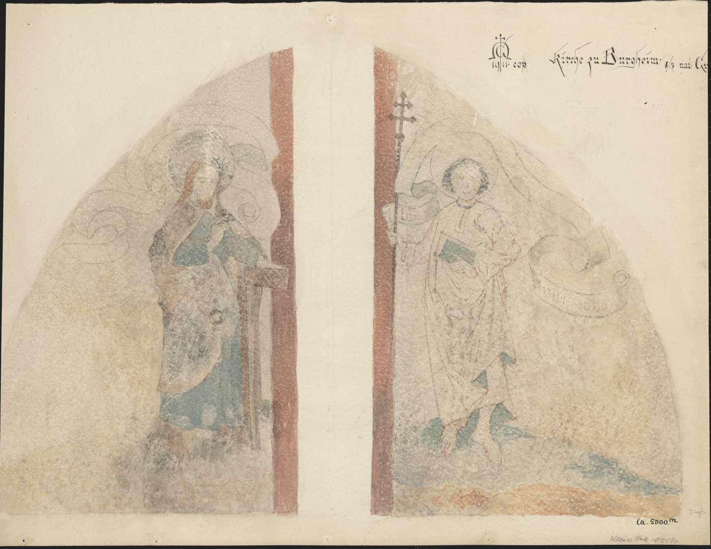 Burgheim Burgheimer Kirche Apostel Jakobus der Jüngere und Philippus, Bild 1
