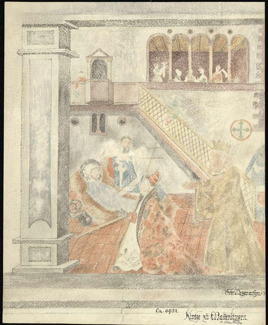 Malterdingen Evangelische Pfarrkirche Anbetung der heiligen drei Könige, Bild 1