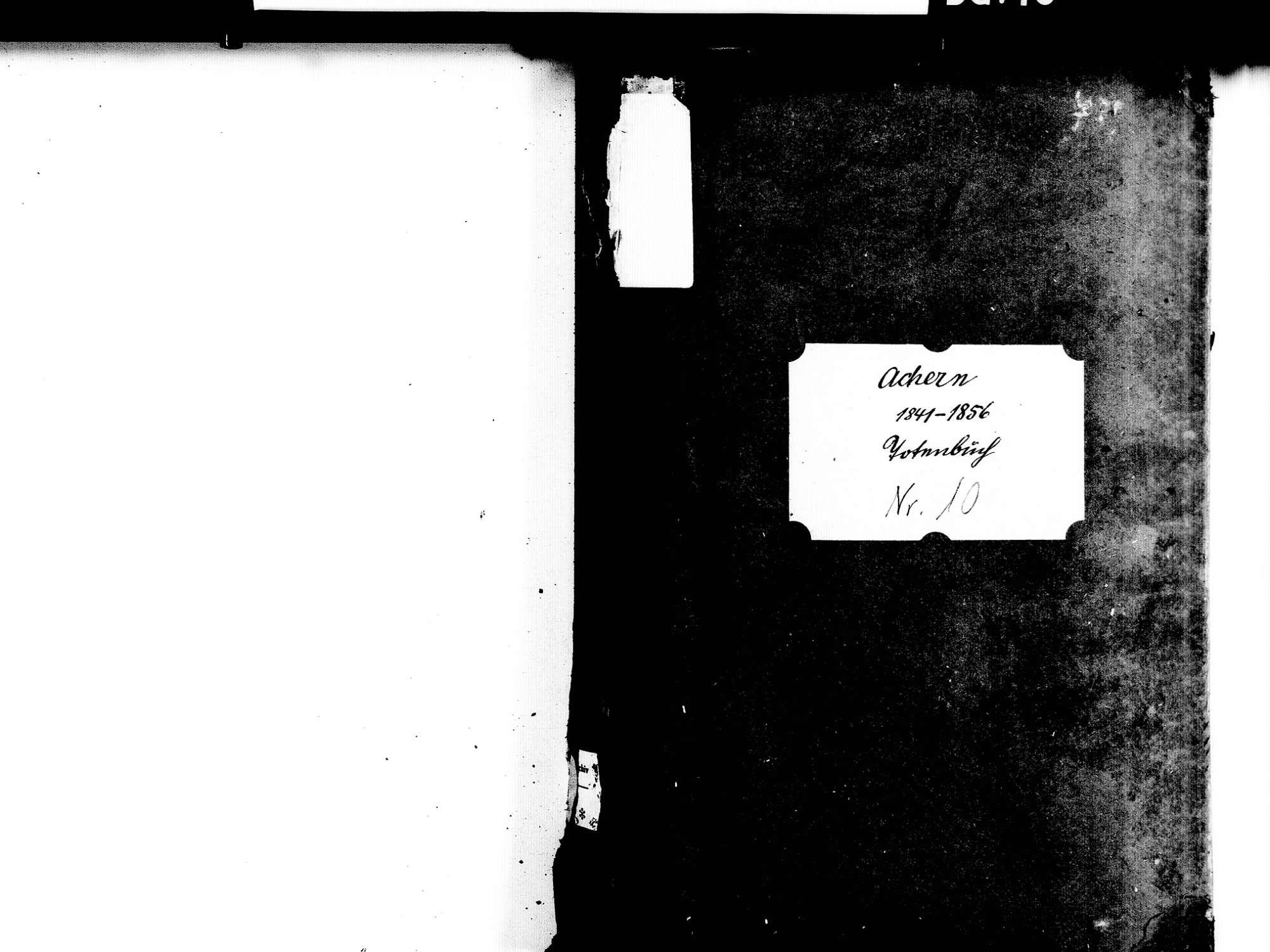Achern OG; Katholische Gemeinde: Sterbebuch 1841-1856, Bild 2