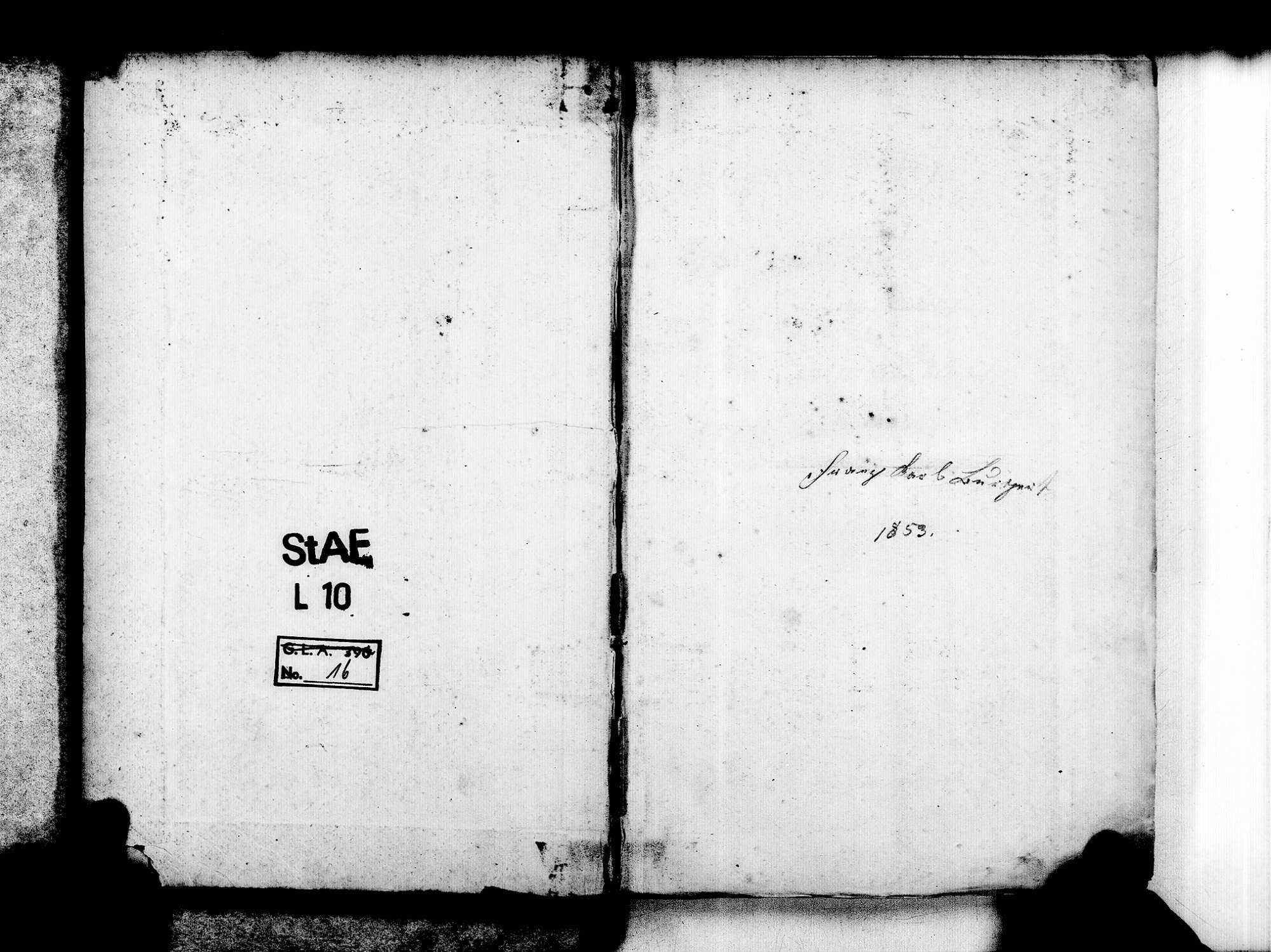Fautenbach, Achern OG; Katholische Gemeinde: Geburtenbuch 1857-1869, Bild 3