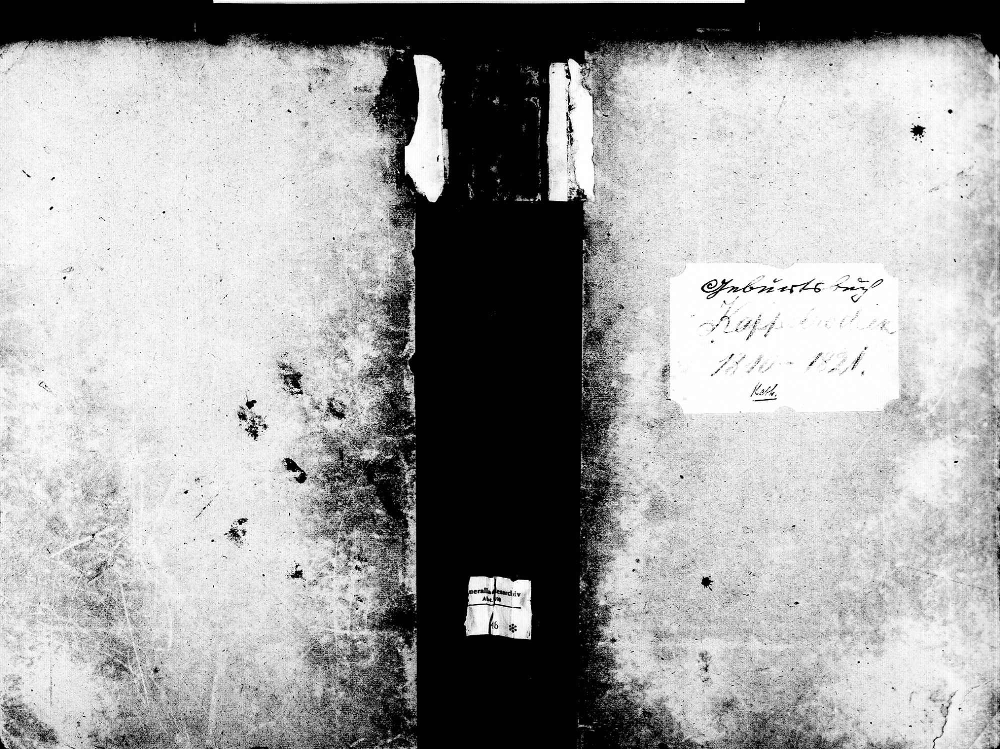 Kappelrodeck OG; Katholische Gemeinde: Geburtenbuch 1810-1821, Bild 1