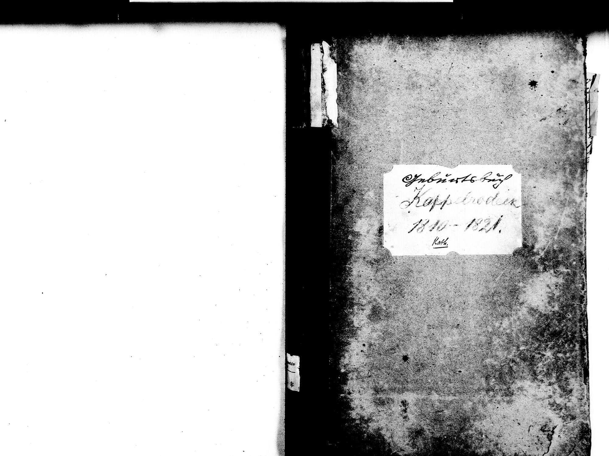 Kappelrodeck OG; Katholische Gemeinde: Geburtenbuch 1810-1821, Bild 2