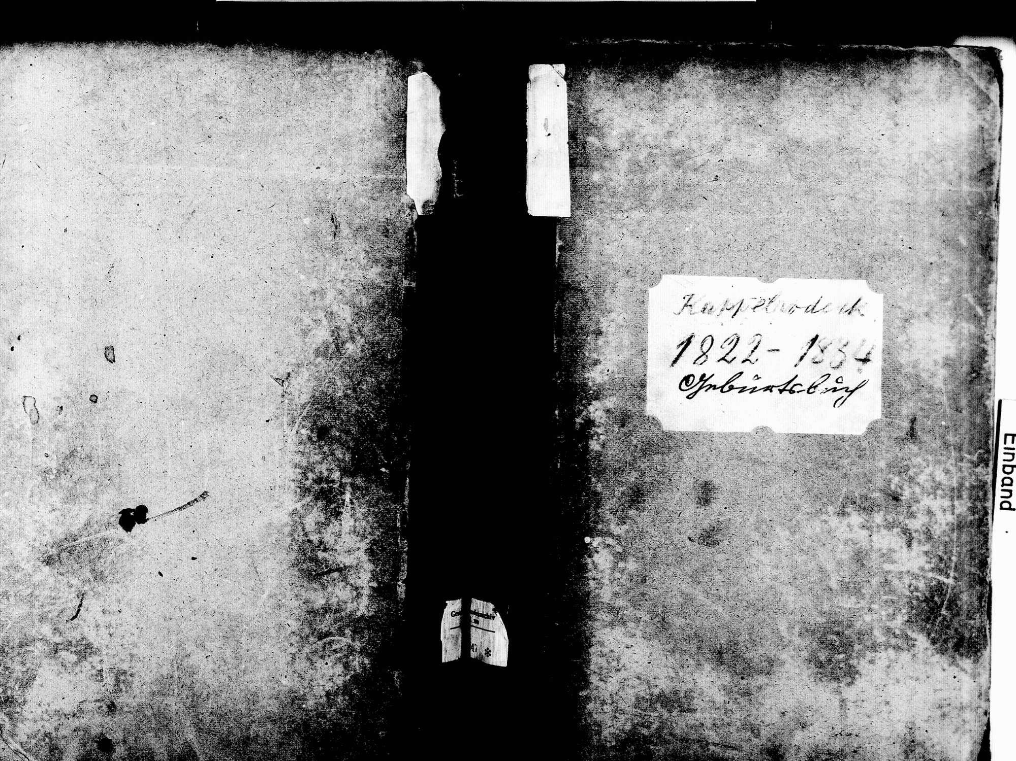 Kappelrodeck OG; Katholische Gemeinde: Geburtenbuch 1822-1834, Bild 1