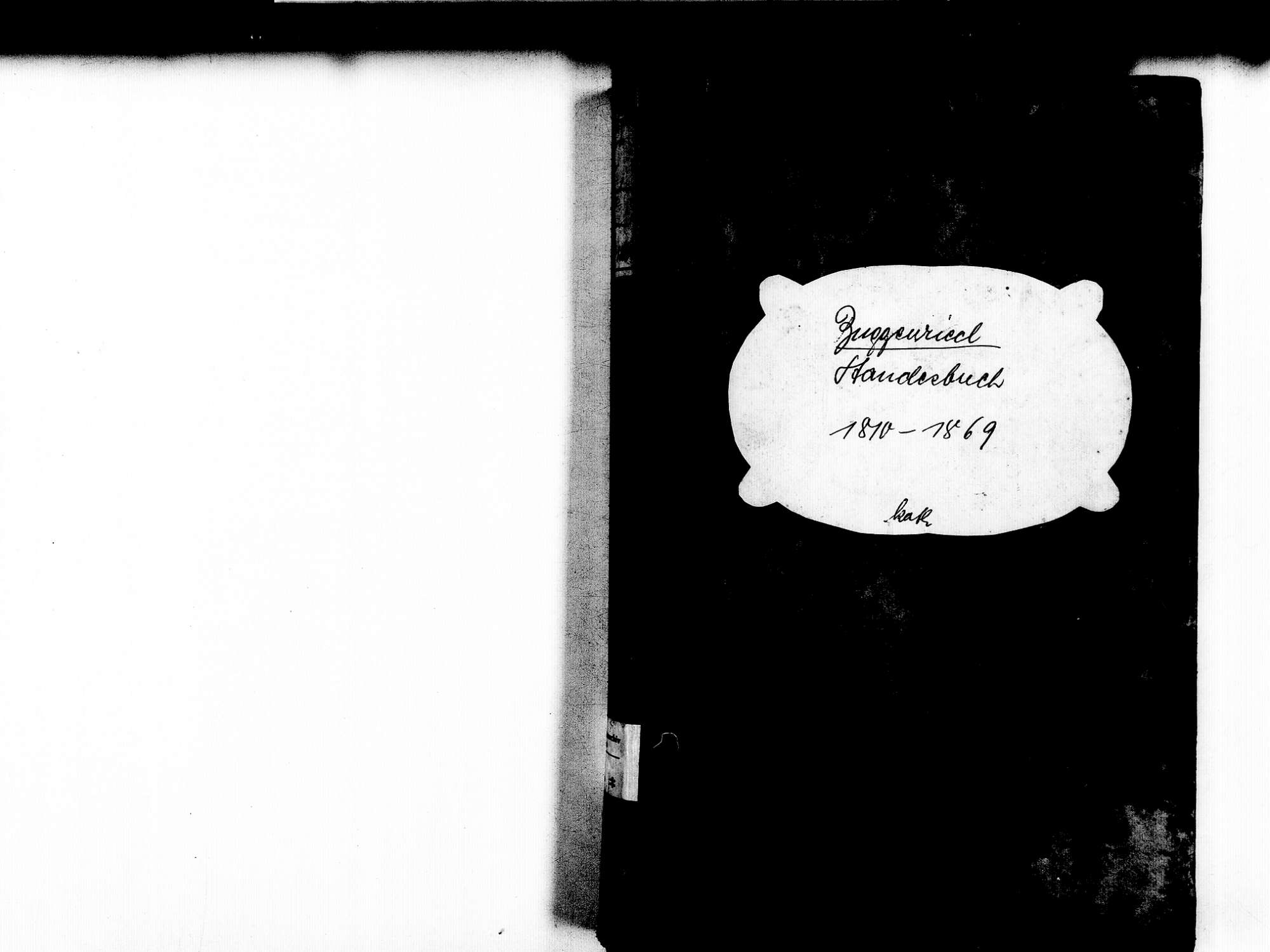 Buggenried, Mettenberg Grafenhausen WT; Katholische Gemeinde: Standesbuch 1810-1869, Bild 2