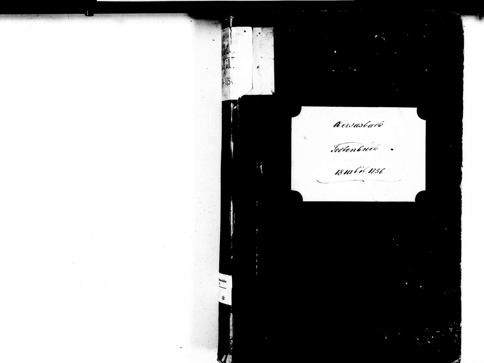Obersasbach, Sasbach OG; Katholische Gemeinde: Sterbebuch 1810-1856, Bild 2