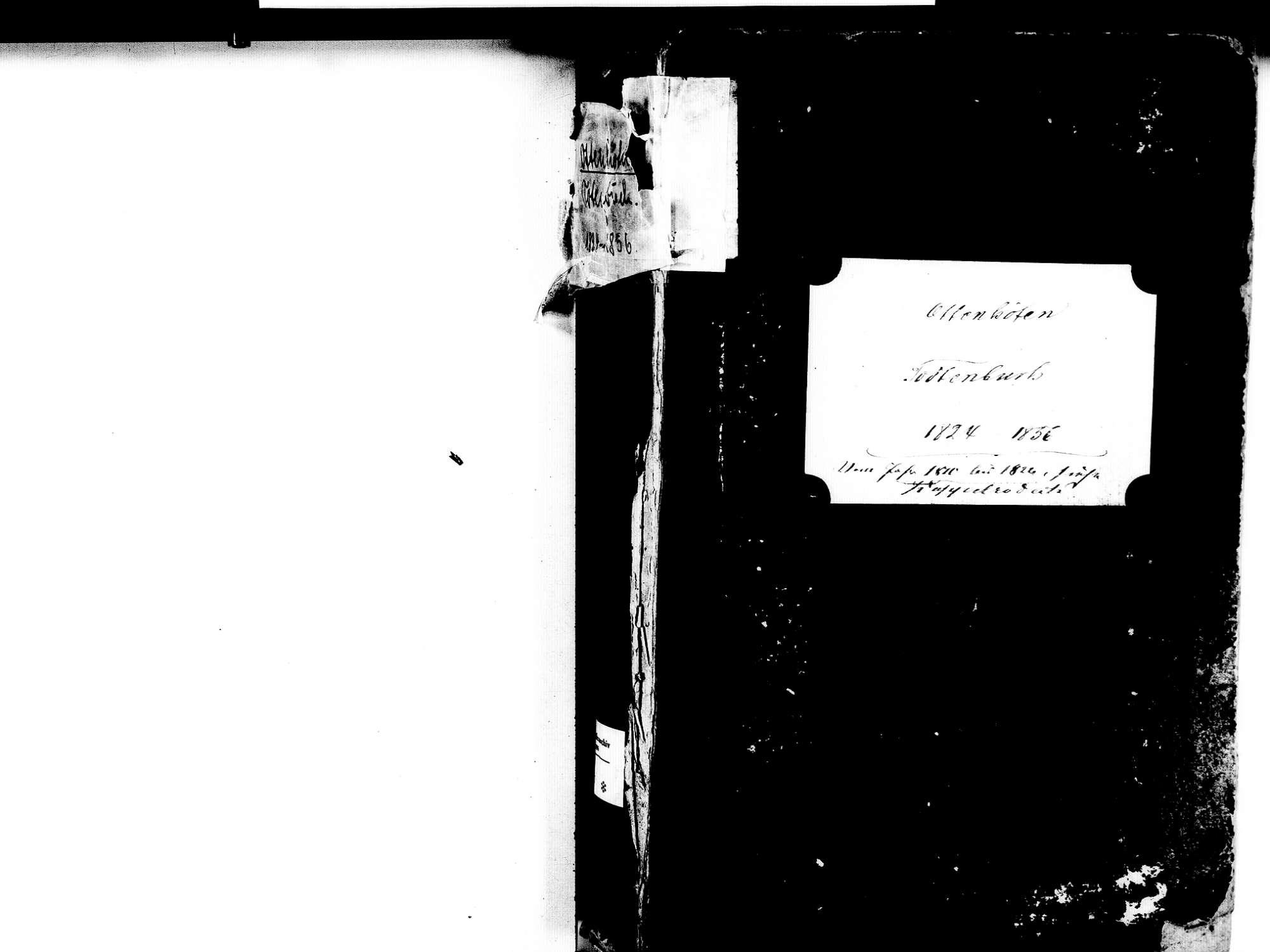 Ottenhöfen im Schwarzwald OG; Katholische Gemeinde: Sterbebuch 1824-1856, Bild 2