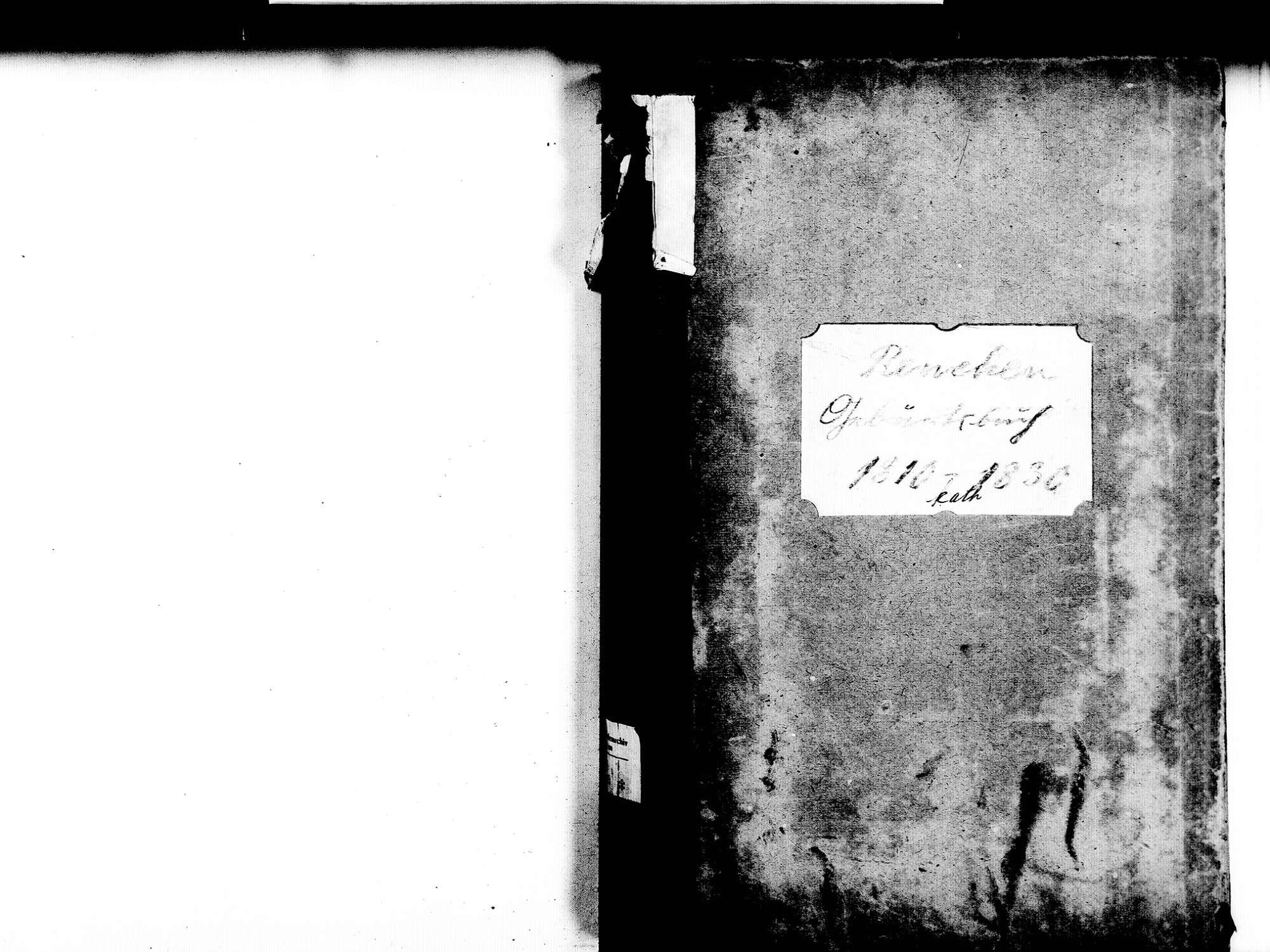 Renchen OG; Katholische Gemeinde: Geburtenbuch 1810-1830, Bild 2