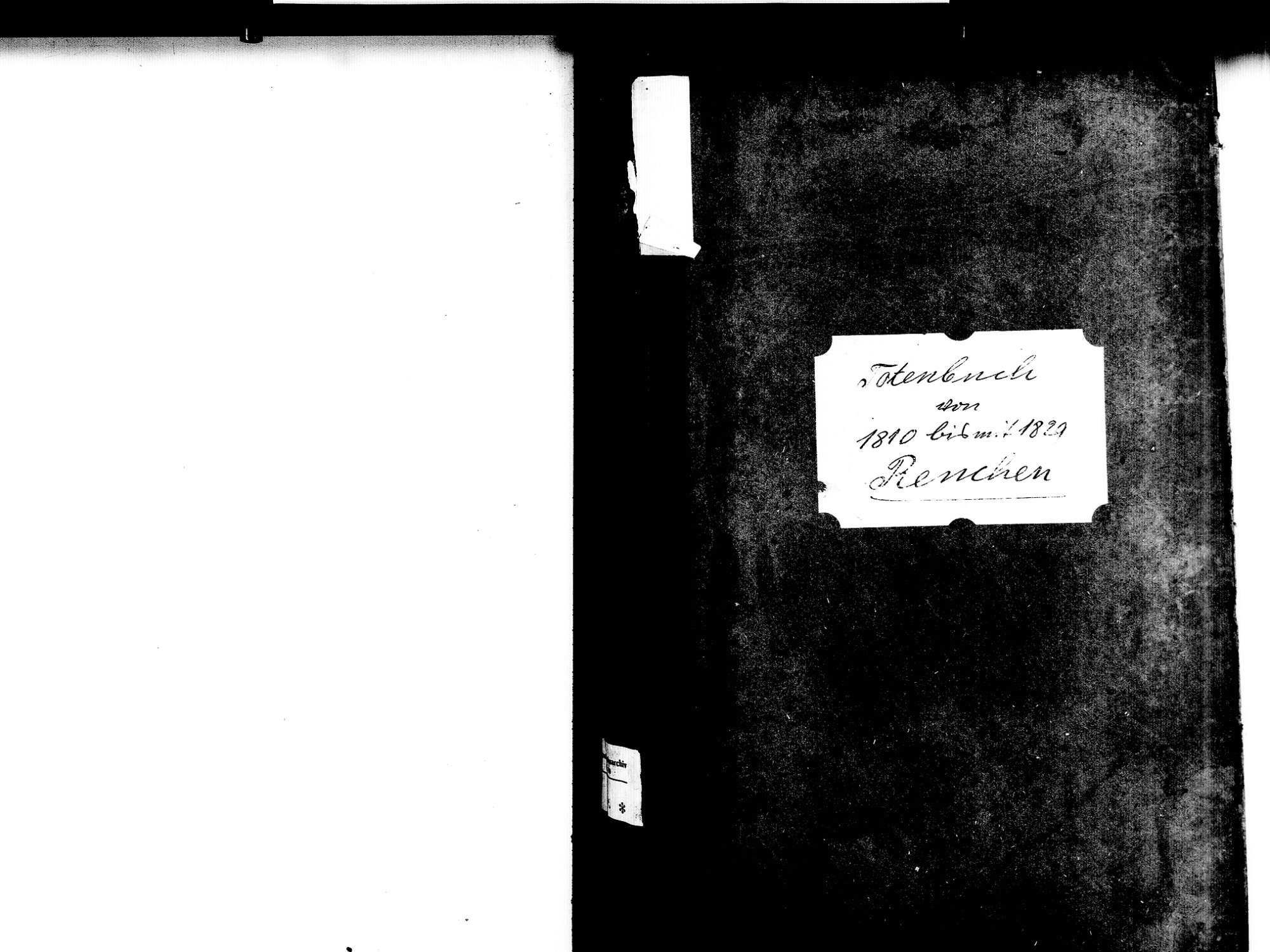 Renchen OG; Katholische Gemeinde: Sterbebuch 1810-1829, Bild 2