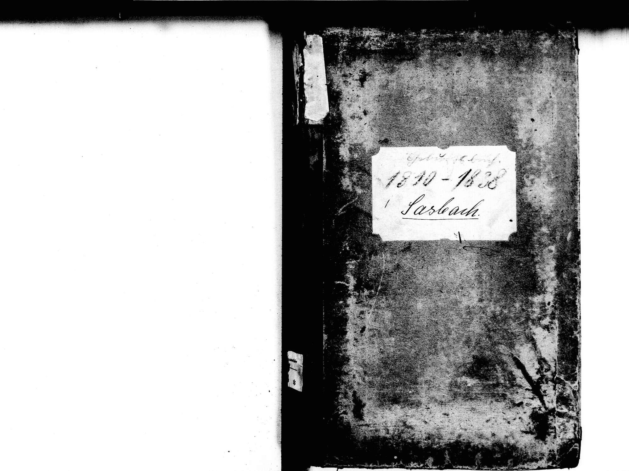 Sasbach OG; Katholische Gemeinde: Geburtenbuch 1810-1838, Bild 2