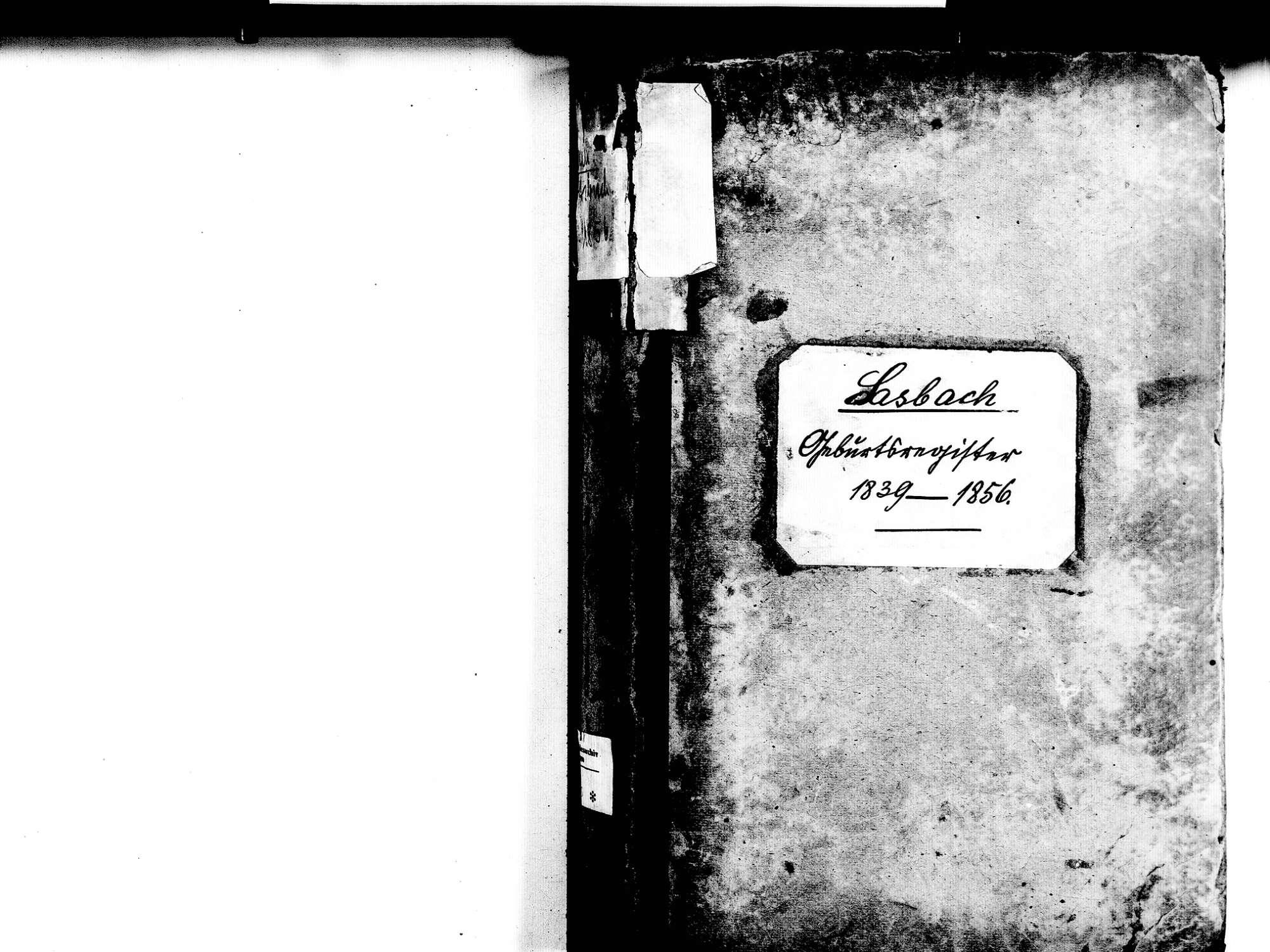 Sasbach OG; Katholische Gemeinde: Geburtenbuch 1839-1856, Bild 2