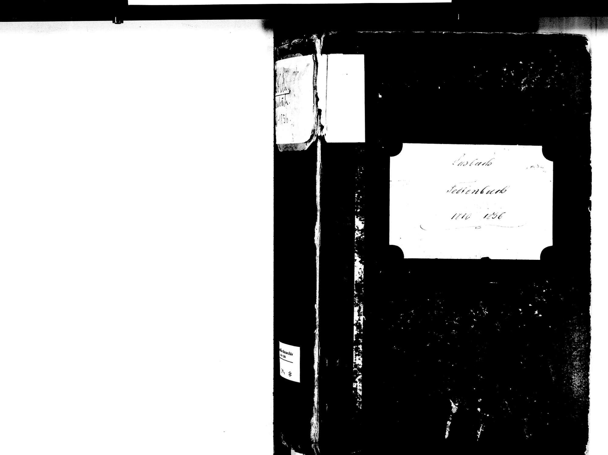 Sasbach OG; Katholische Gemeinde: Sterbebuch 1810-1856, Bild 2