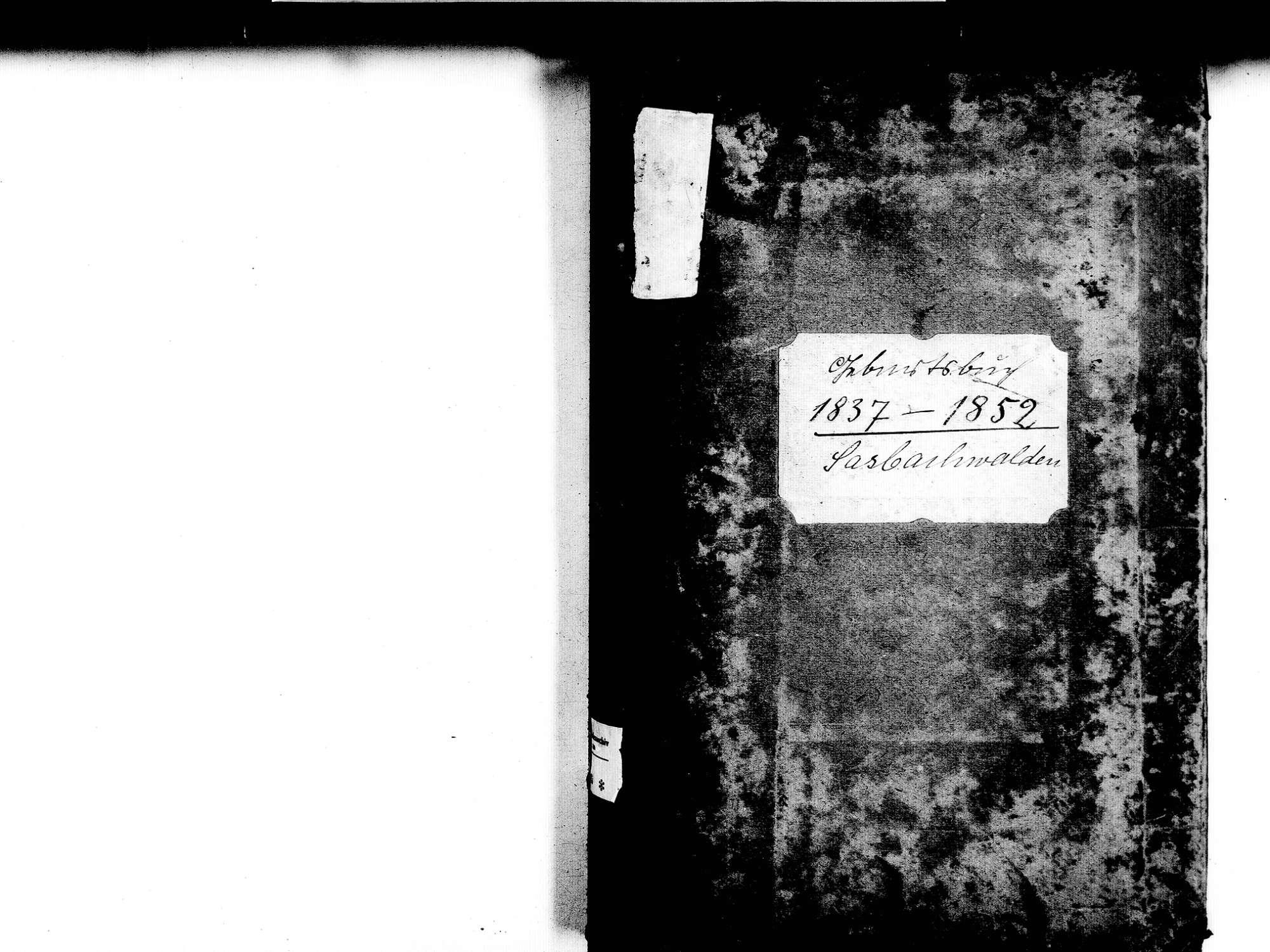 Sasbachwalden OG; Katholische Gemeinde: Geburtenbuch 1837-1852, Bild 2