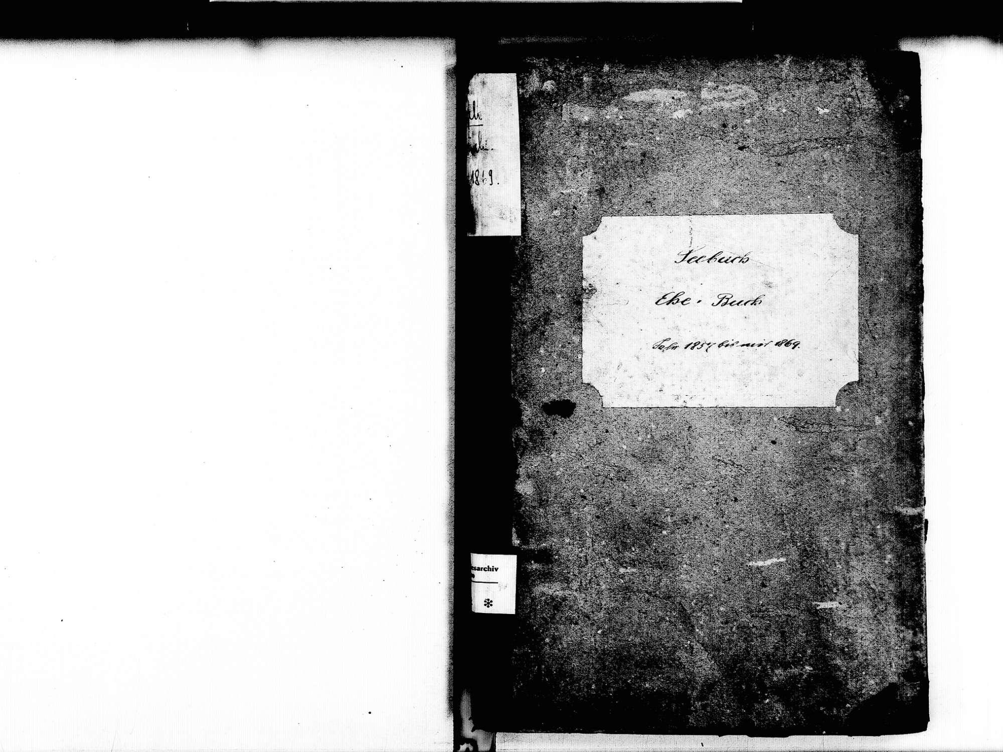 Seebach OG; Katholische Gemeinde: Heiratsbuch 1857-1869, Bild 3