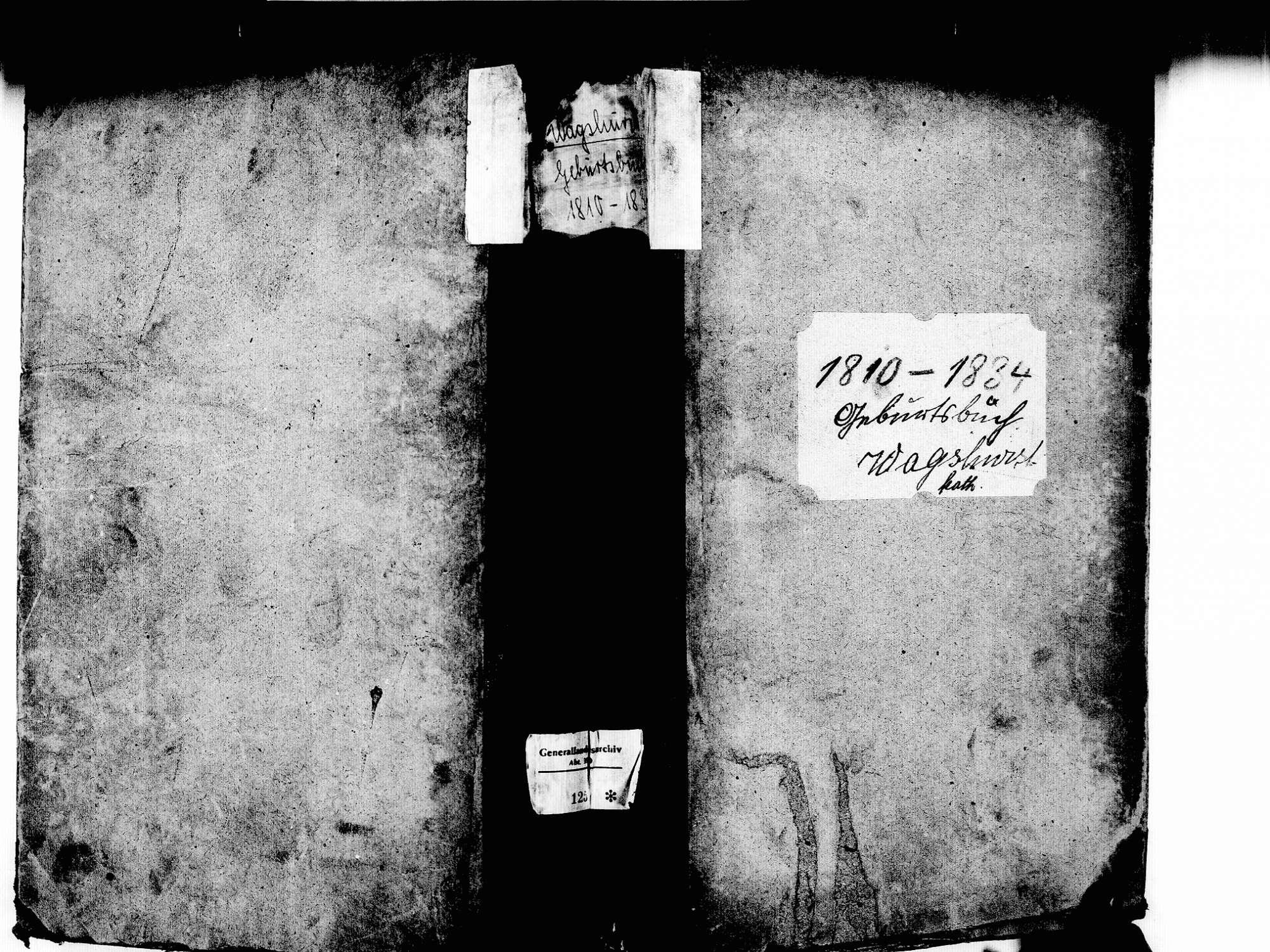 Wagshurst, Achern OG; Katholische Gemeinde: Geburtenbuch 1810-1834, Bild 2
