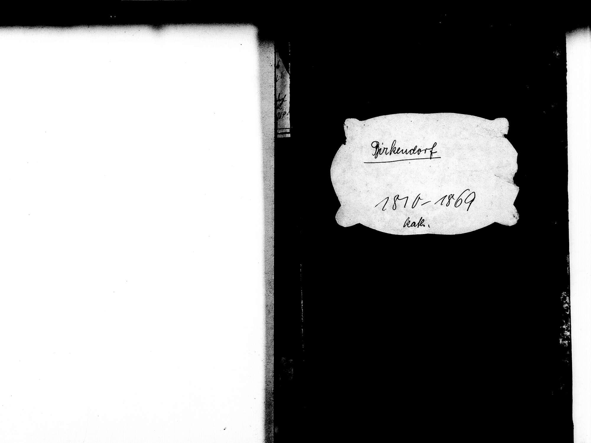 Birkendorf, Ühlingen-Birkendorf WT; Katholische Gemeinde: Geburtenbuch 1810-1869, Bild 2