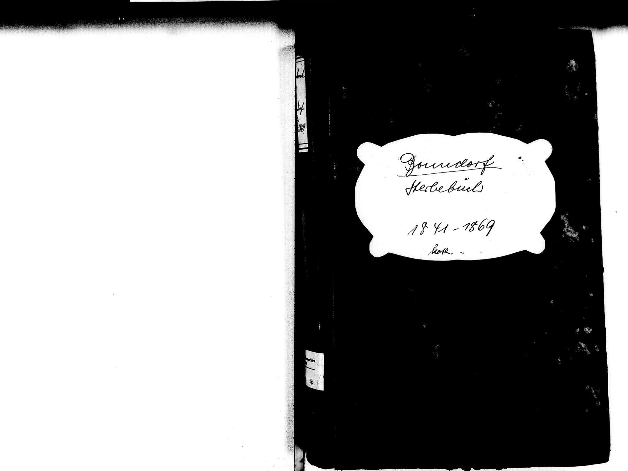 Bonndorf im Schwarzwald WT; Katholische Gemeinde: Sterbebuch 1841-1869, Bild 2