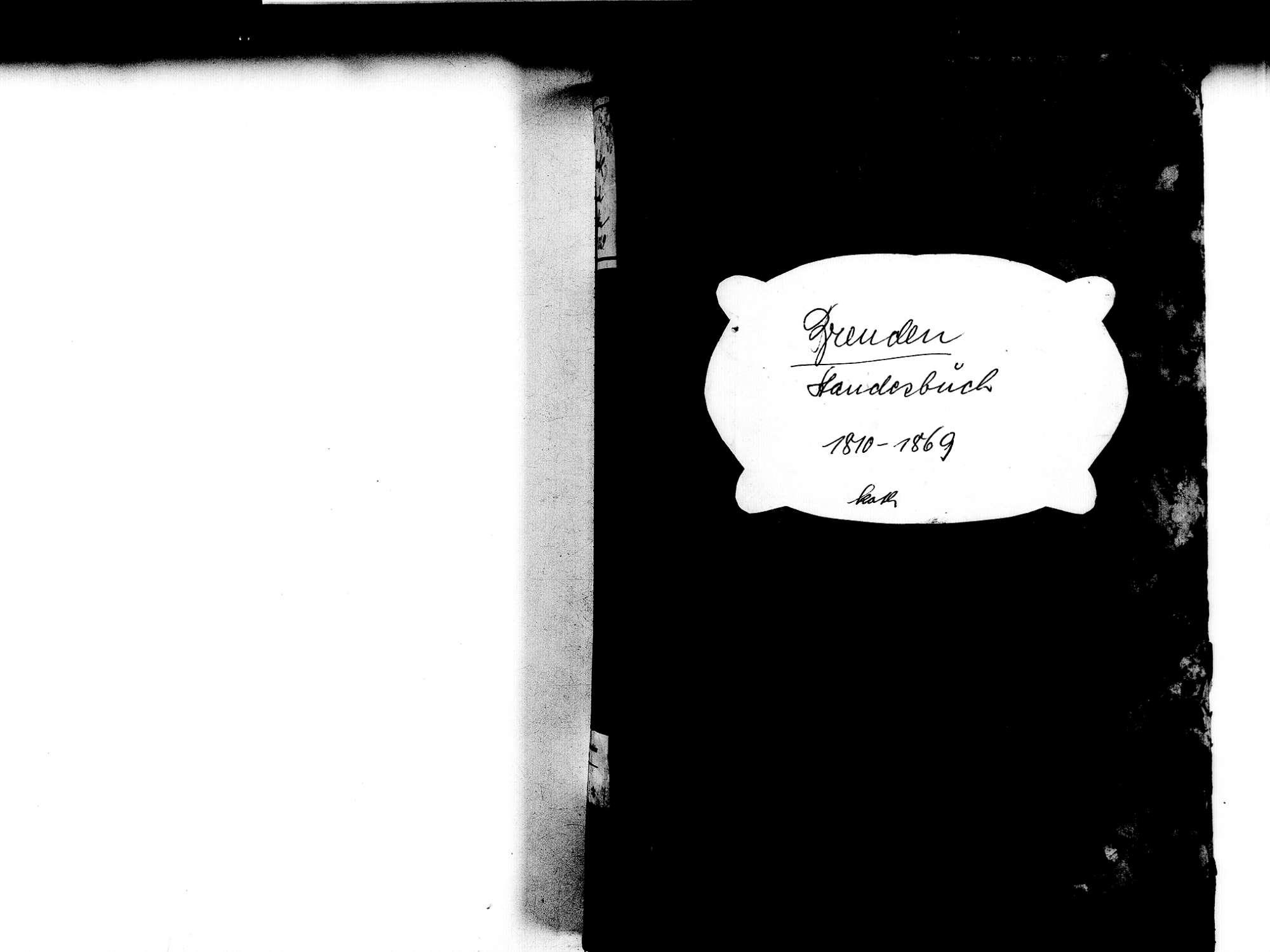 Brenden, Ühlingen-Birkendorf WT; Katholische Gemeinde: Standesbuch 1810-1869, Bild 2