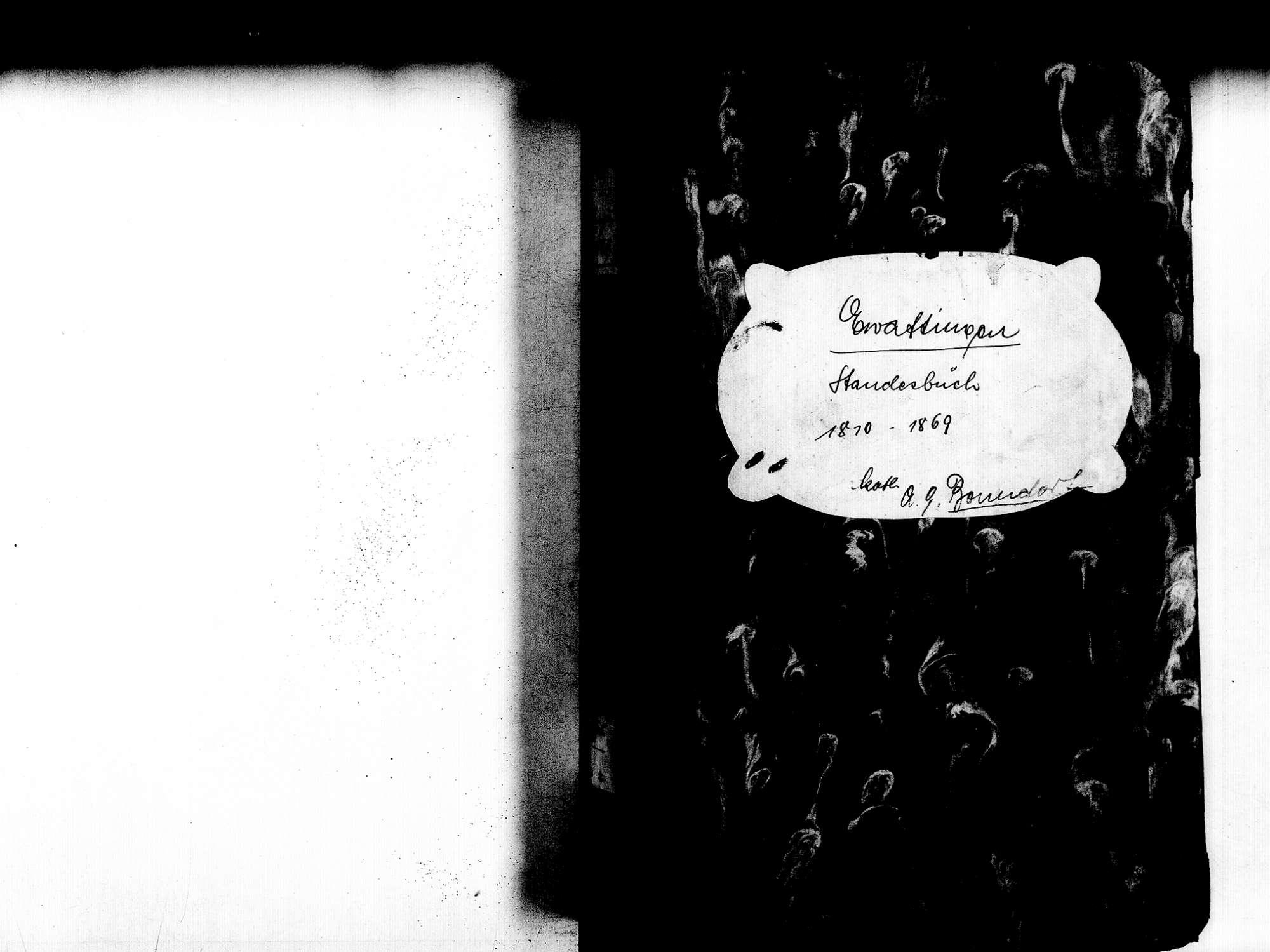 Ewattingen, Wutach WT; Katholische Gemeinde: Geburtenbuch 1810-1869, Bild 2