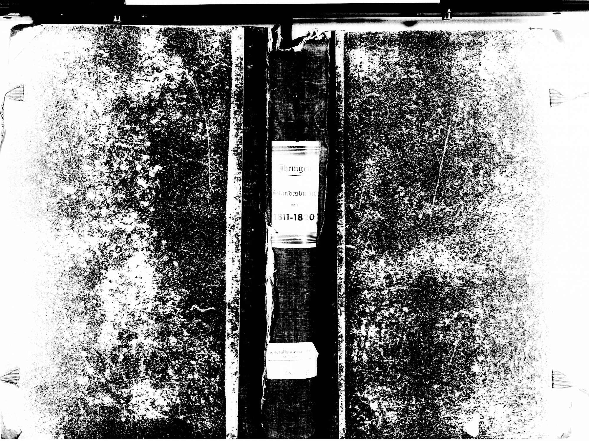 Ihringen FR; Evangelische Gemeinde: Standesbuch 1811-1820 Ihringen FR; Israelitische Gemeinde: Standesbuch 1811-1820, Bild 1
