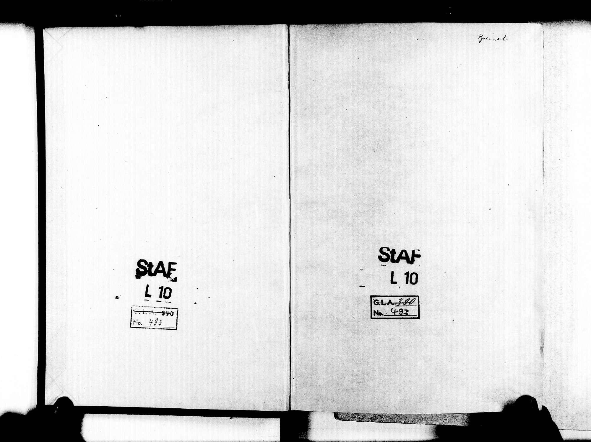 Ihringen FR; Evangelische Gemeinde: Standesbuch 1852-1858 Ihringen FR; Israelitische Gemeinde: Standesbuch 1852-1858, Bild 3