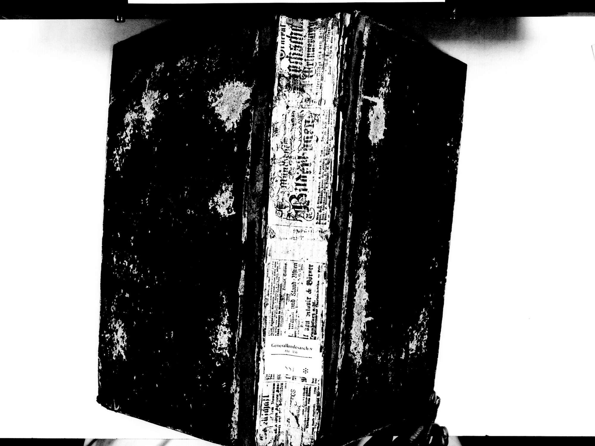 Lauf OG; Katholische Gemeinde: Sterbebuch 1810-1840, Bild 2