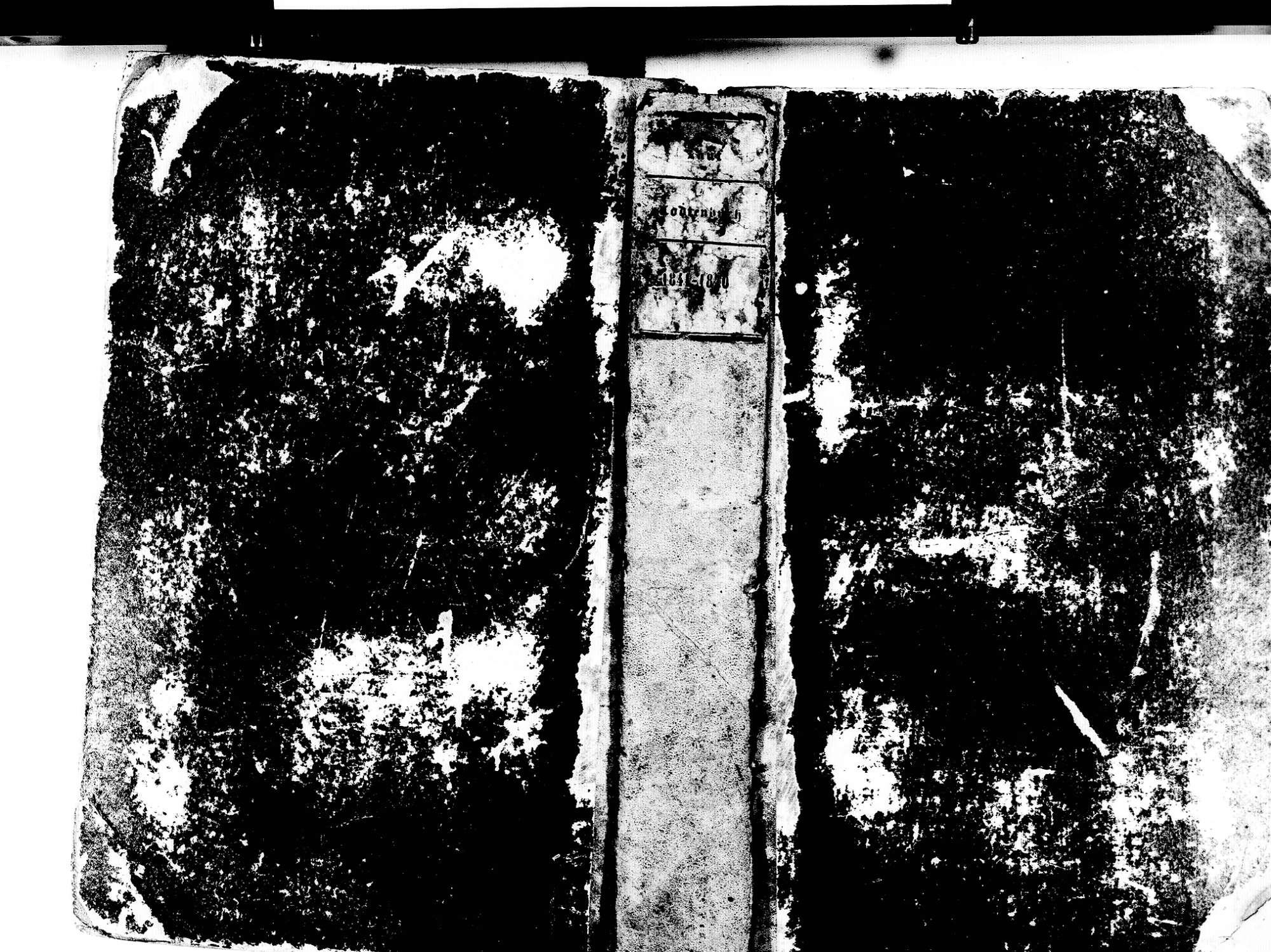 Lauf OG; Katholische Gemeinde: Sterbebuch 1841-1870, Bild 1