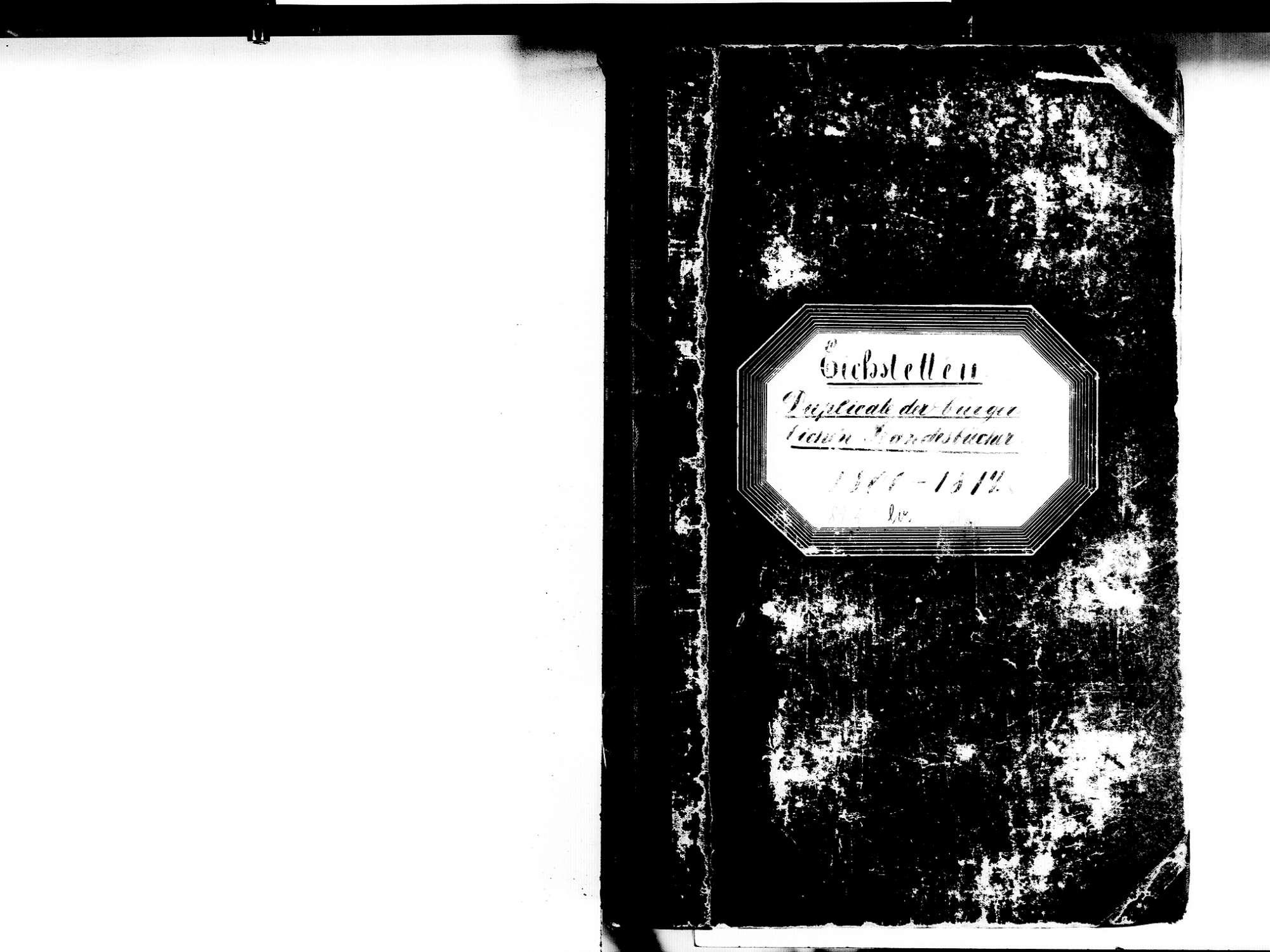 Eichstetten FR; Evangelische Gemeinde: Standesbuch 1800-1814 Eichstetten FR; Israelitische Gemeinde: Standesbuch 1800-1814, Bild 2