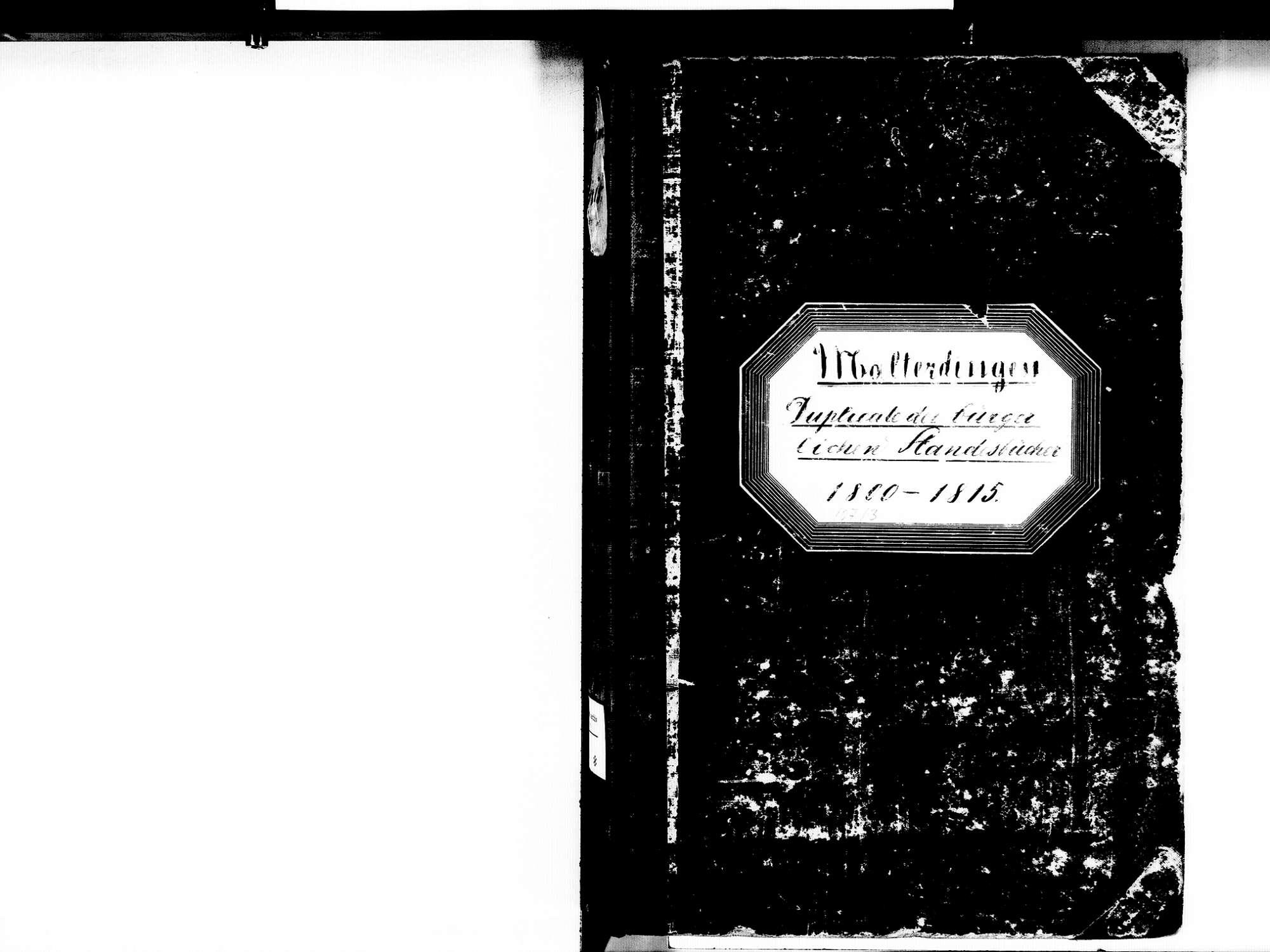 Malterdingen EM; Evangelische Gemeinde: Standesbuch 1800-1815 Enthält: Einzelne Katholische Einträge, Bild 2