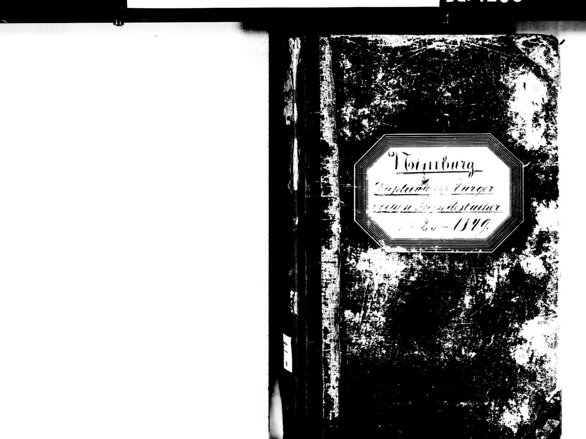 Nimburg, Teningen EM; Evangelische Gemeinde: Standesbuch 1823-1849 Enthält: Einzelne Katholische Einträge, Bild 2