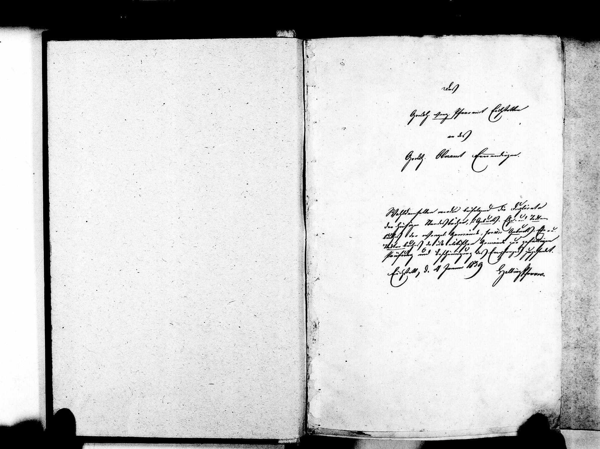 Eichstetten FR; Evangelische Gemeinde: Standesbuch 1838-1848 Eichstetten FR; Israelitische Gemeinde: Standesbuch 1838-1848, Bild 3