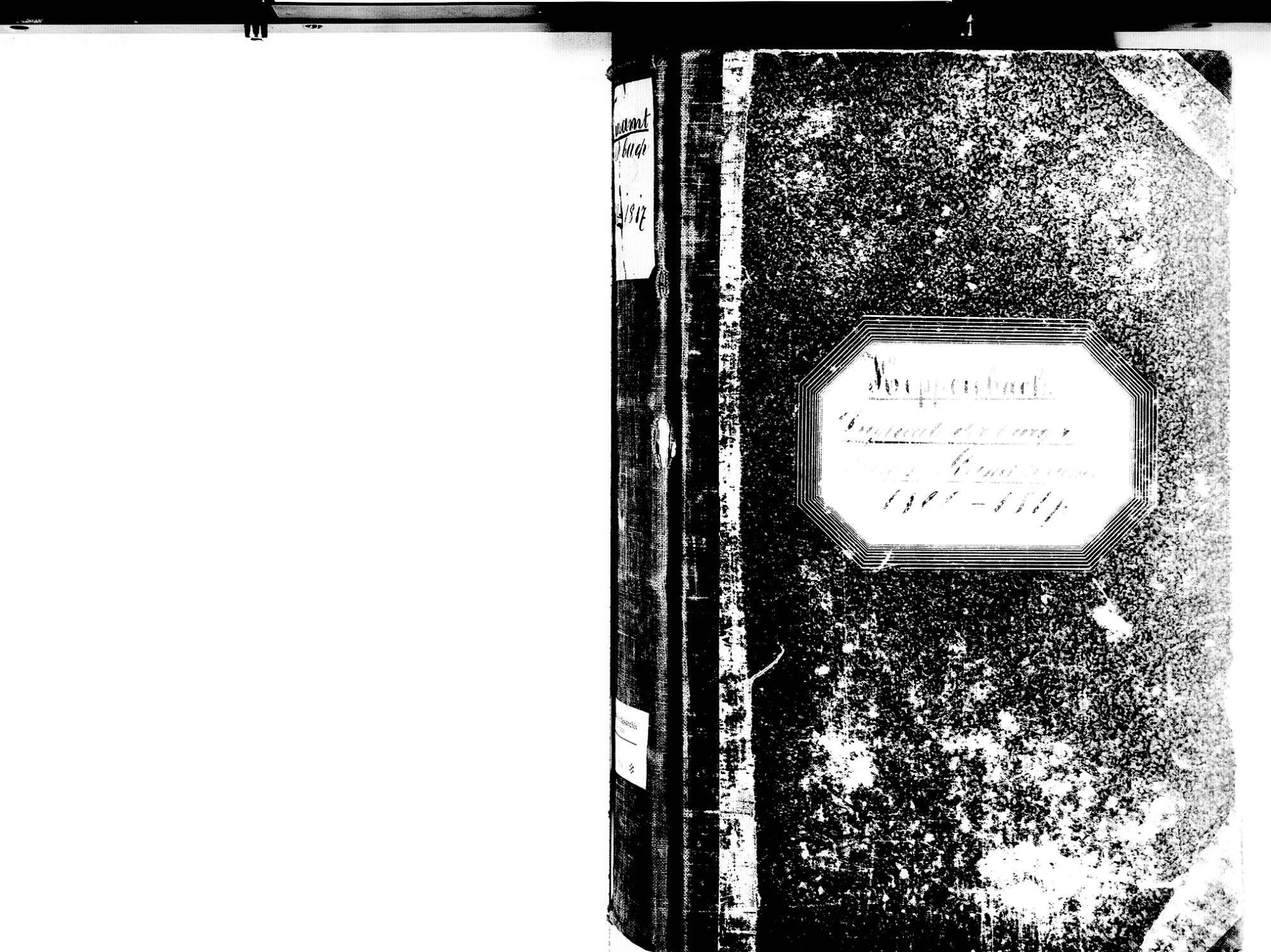 Freiamt EM; Evangelische Gemeinde: Standesbuch 1800-1817, Bild 2