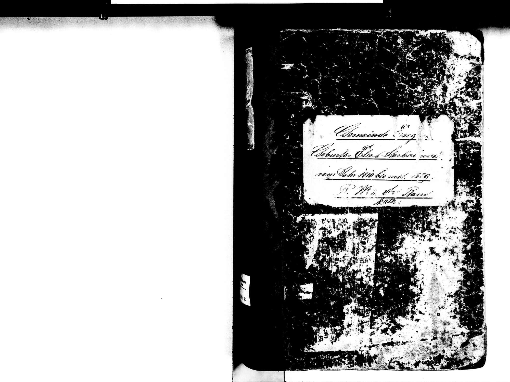 Engen KN; Katholische Gemeinde: Standesbuch 1810-1829, Bild 2